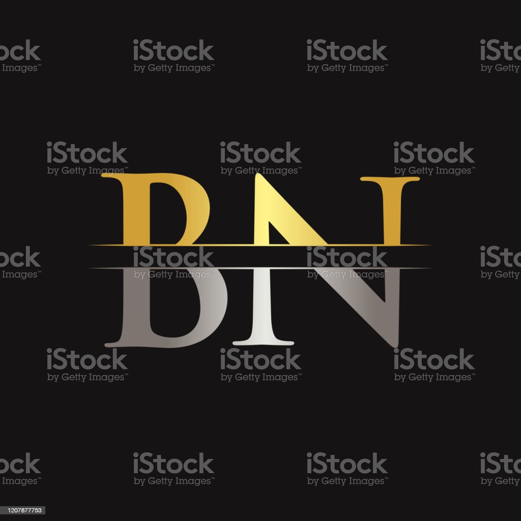 Initial Bn Letter Logo With Creative Modern Business Typography Vector Template Creative Abstract Letter Bn Logo Design Stock Illustration Download Image Now Istock