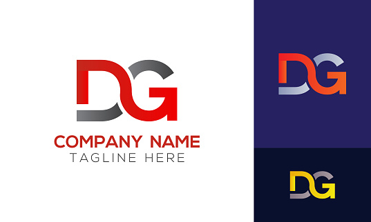 Initial DG Letter Logo With Creative Modern Business Typography Vector Template. Creative Abstract Letter DG Logo Design