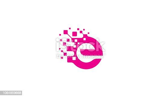 istock initial E vector icon technology 1064859668