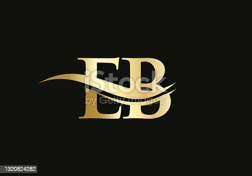 istock Initial EB letter logo with creative modern business typography vector template. Creative abstract letter EB logo design 1320824282