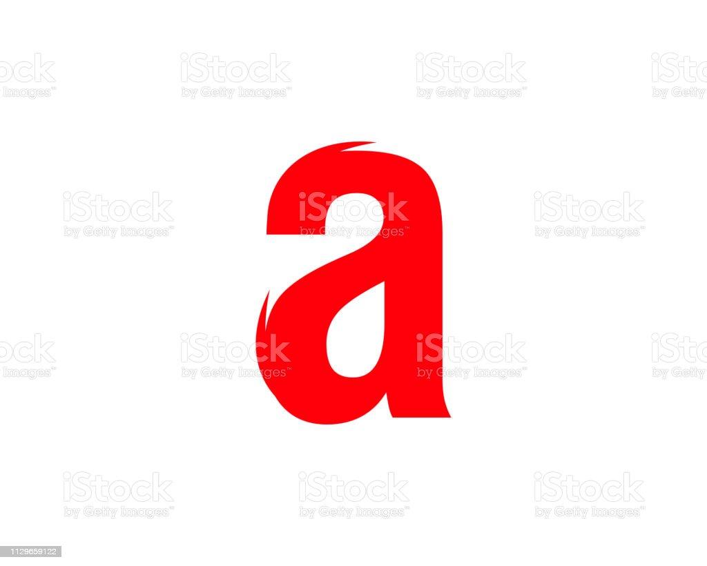 0eb7d087a Letra inicial de um modelo de design do logotipo vector vetor de letra  inicial de um