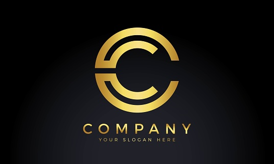 Initial Letter C Logo With Creative Modern Business Typography Vector Template