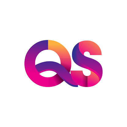 Initial Letter Logotype Lowercase Magenta And Orange Stock Illustration - Download Image Now