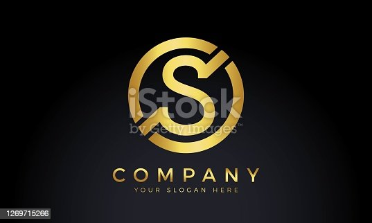 Initial Letter S Logo With Creative Modern Business Typography Vector Template. Creative Abstract Letter S Logo Design