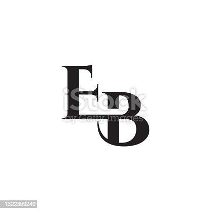 istock EB initial letters vector monogram logo template 1322359249