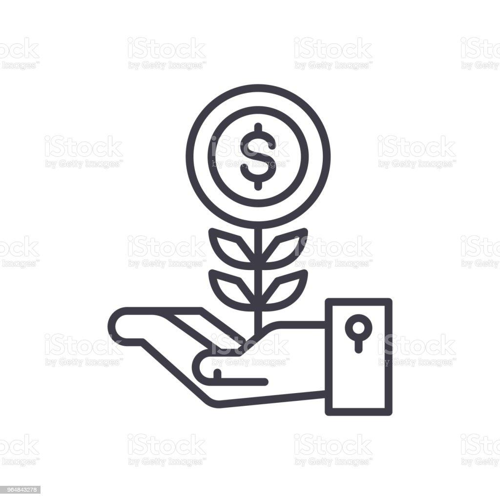 Initial revenue black icon concept. Initial revenue flat  vector symbol, sign, illustration. royalty-free initial revenue black icon concept initial revenue flat vector symbol sign illustration stock vector art & more images of arcade