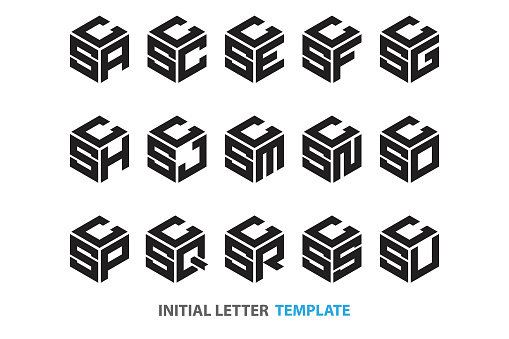 initial three-letter hexagon