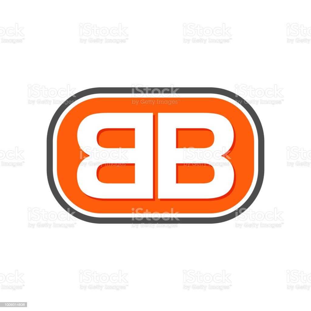 Bb Initials Lettermark Symbol Design Stock Vector Art More Images