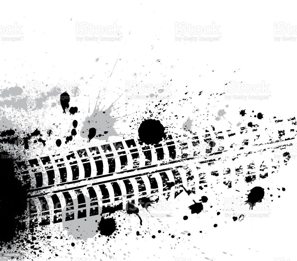 Ink blots background royalty-free stock vector art