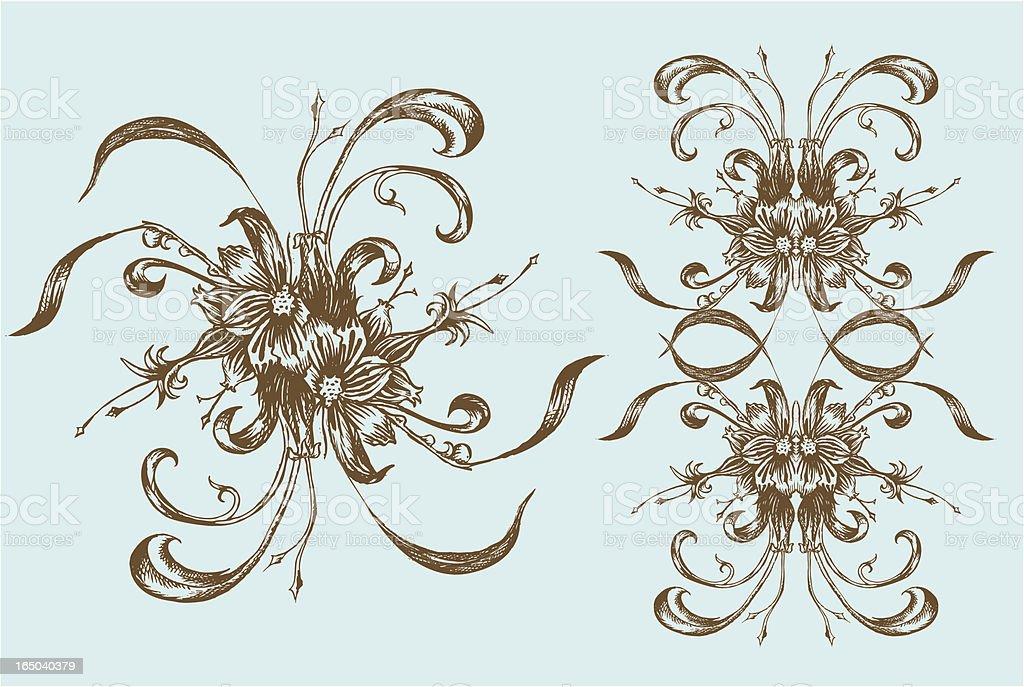ink design elements royalty-free stock vector art