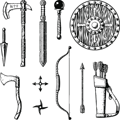 Ink Fantasy Weapons