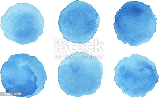 ink patches paint blob set