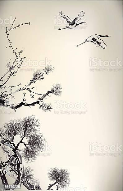 Ink style pine tree and crane vector id166115226?b=1&k=6&m=166115226&s=612x612&h=aotxzwup pah8jxmk hx9kih5zhe3xn1ujzoz8ann w=