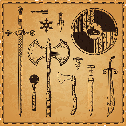 Ink Weapons Parchment