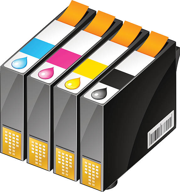 Best Ink Cartridge Illustrations, Royalty-Free Vector ...