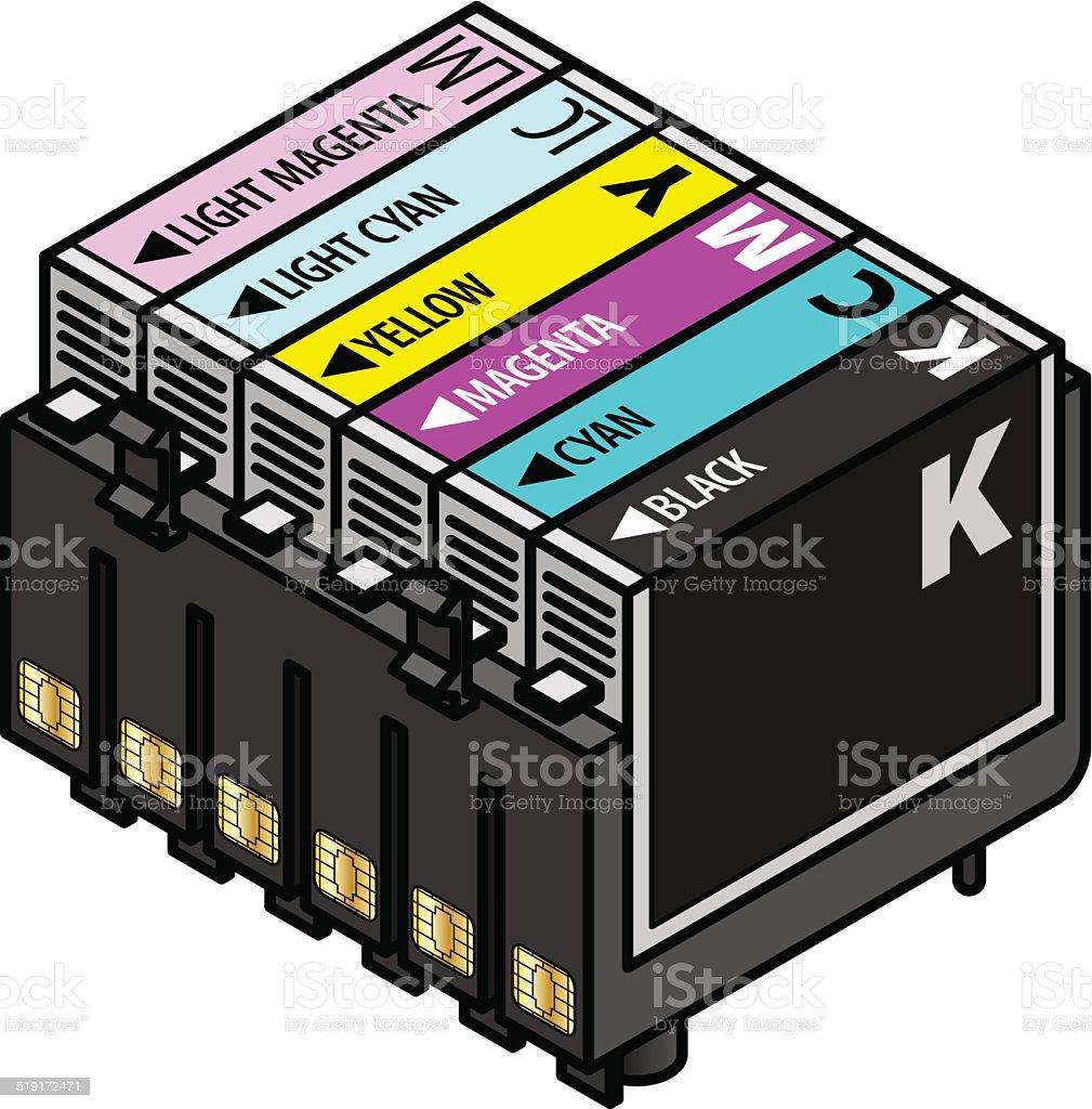 Inkjet Cartridges Stock Vector Art More Images Of Atlantic Islands Electronics Resistors Color Codes 4 Royalty Free Amp