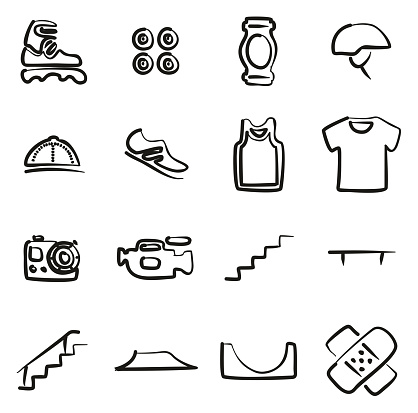 Inline Icons Freehand