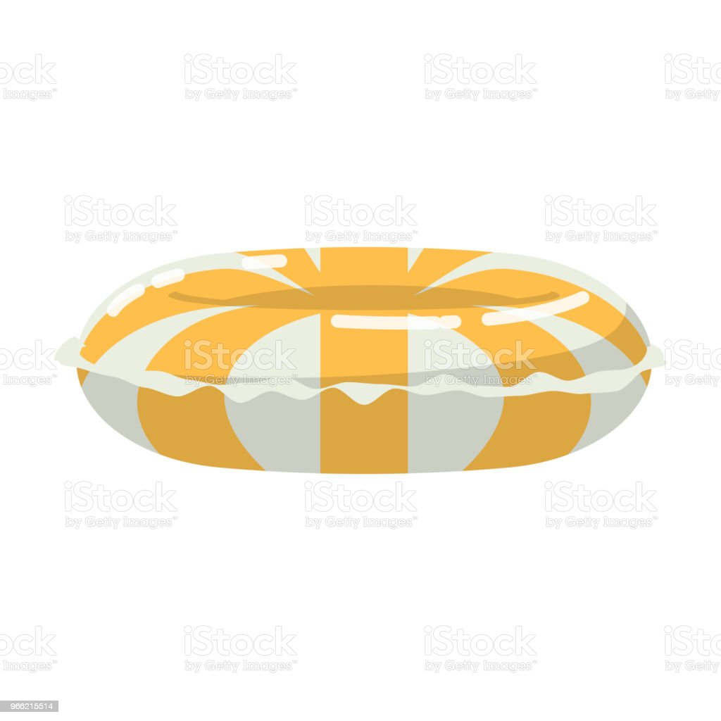 Inner tubes vector art illustration
