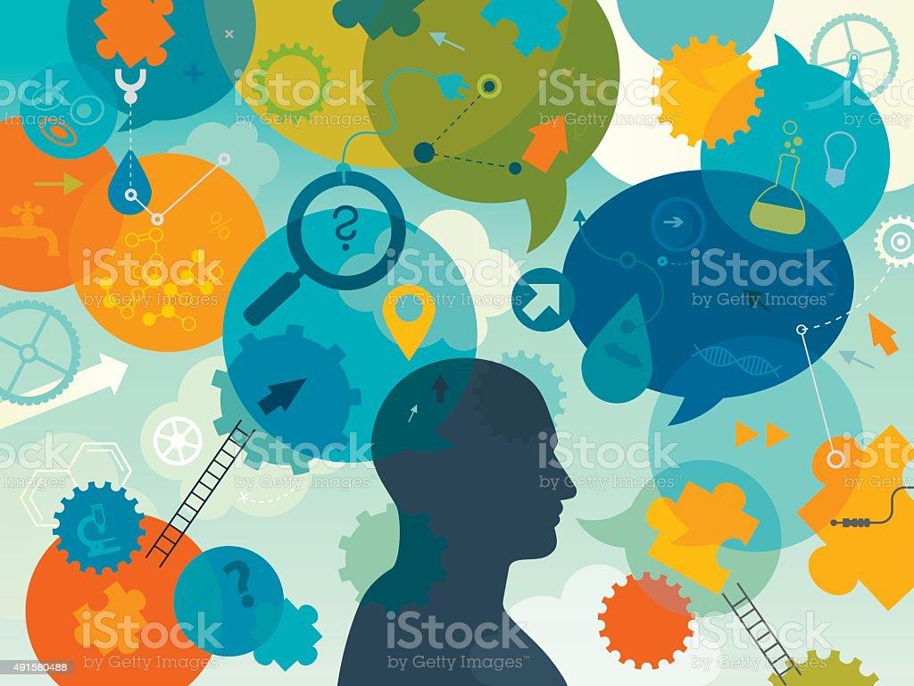 Innovating vector art illustration