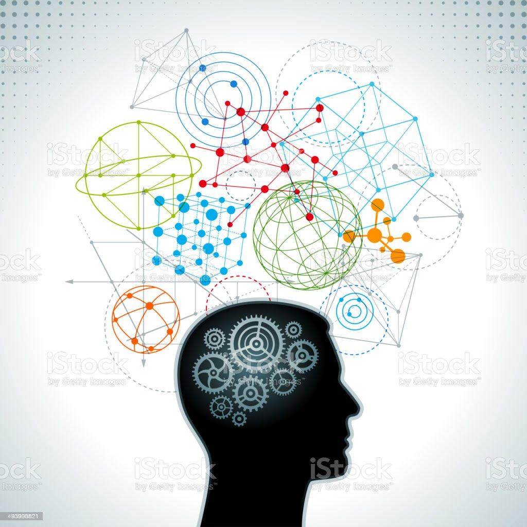 Innovation and Creativity Concept vector art illustration