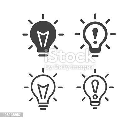 istock Innovation - Illustration Icons 1265438501