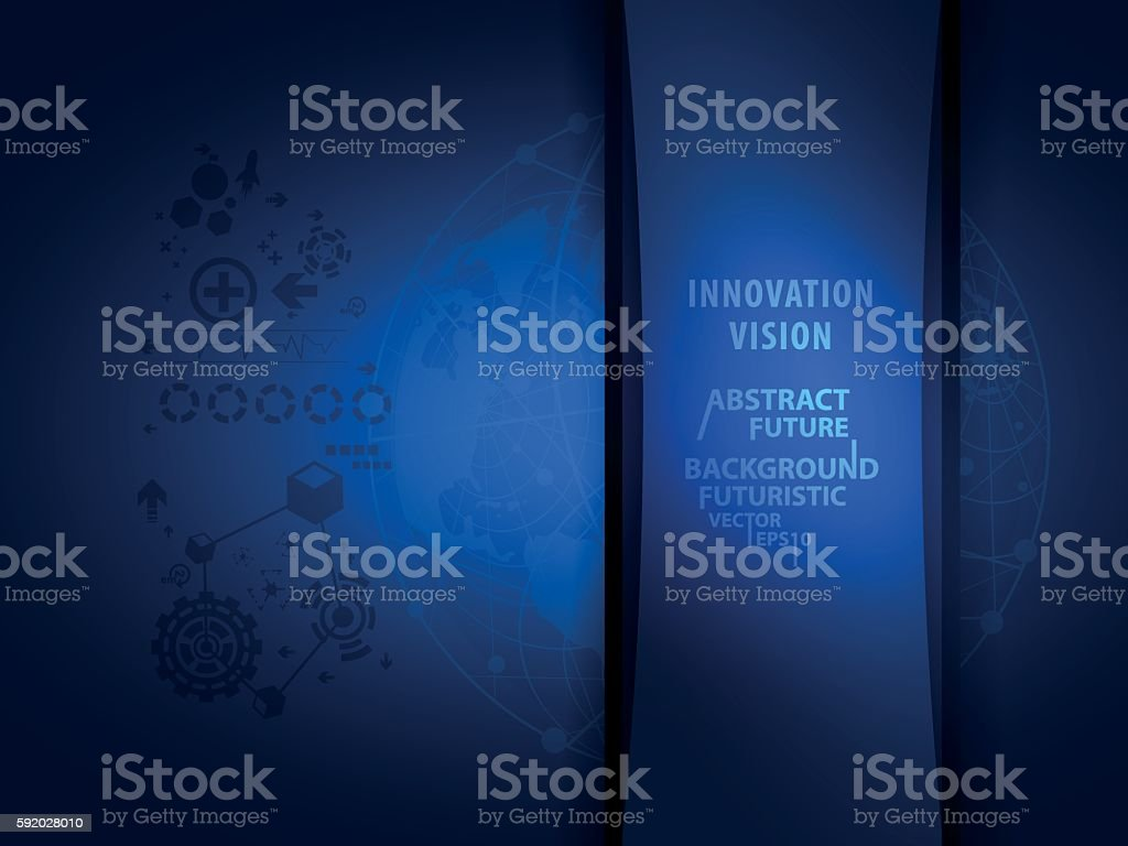 innovation technology abstract background concept vector vector art illustration