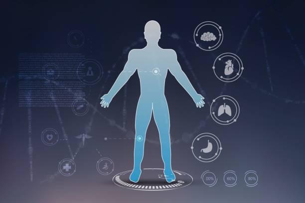 innovative technologien in wissenschaft und medizin - dashboard, hintergrund, hell stock-grafiken, -clipart, -cartoons und -symbole