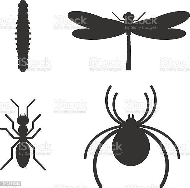 Insect icon black silhouette icons vector id540864090?b=1&k=6&m=540864090&s=612x612&h=vkpwph7 40sywbabg4ohmnhc4t4iaafci56lhzfuyb0=