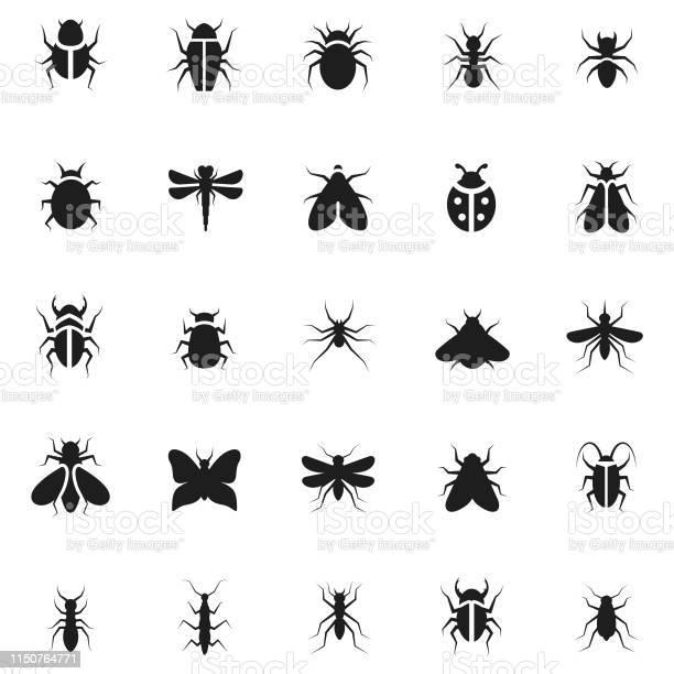 Insect icon set vector id1150764771?b=1&k=6&m=1150764771&s=612x612&h=qlk2scrvxe20 ao1alcppkkldsrdhzqzbmplfplnkus=