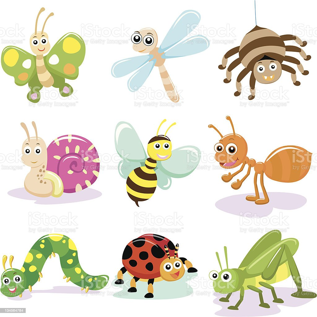 insect royalty-free stock vector art