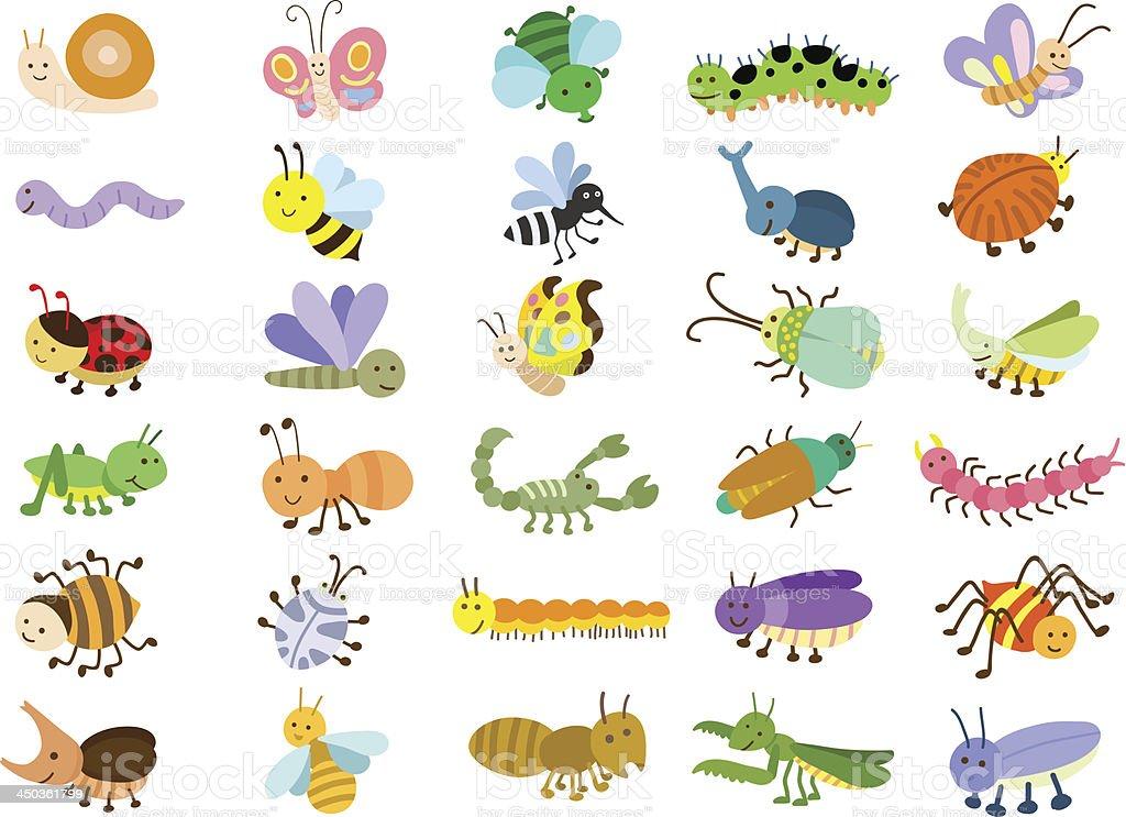 昆虫 アイコンのベクターアート素材や画像を多数ご用意 Istock