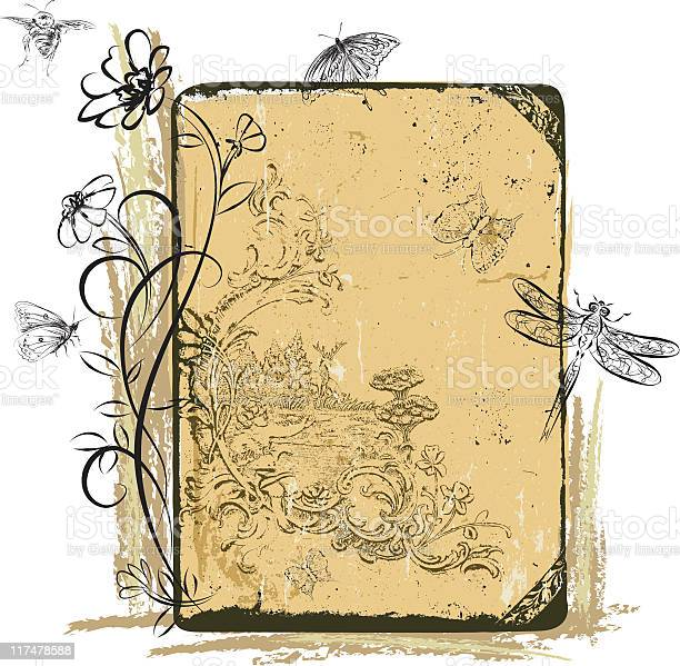 Insects and flowers on grunge background elements vector id117478588?b=1&k=6&m=117478588&s=612x612&h=rvs1vvuw g eqayxqjs98egmvqyw  o4ba mjk4d0cc=