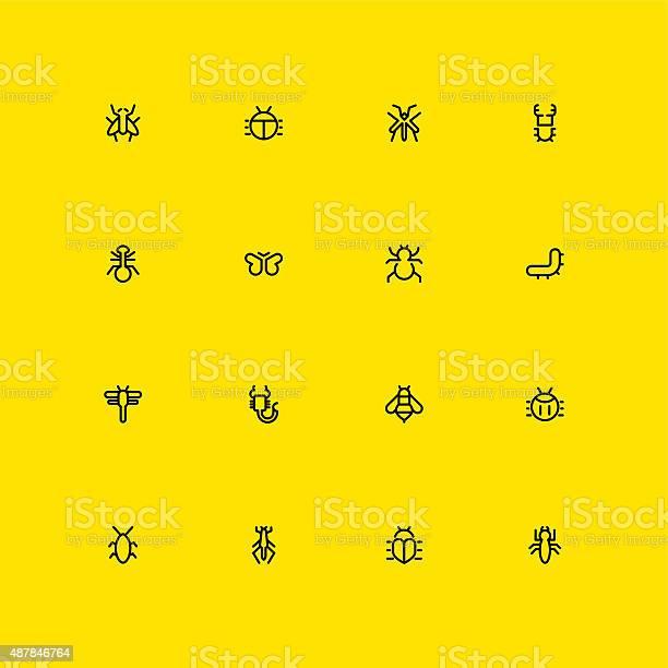 Insects icons line vector id487846764?b=1&k=6&m=487846764&s=612x612&h=ik rxl5gfgiqp39xnrb1 kpbcggjljlnqnu6tosb1ic=