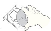CD insertion