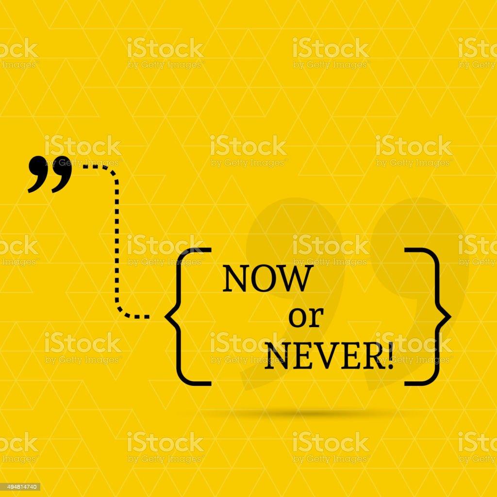 Inspirational quote vector vector art illustration