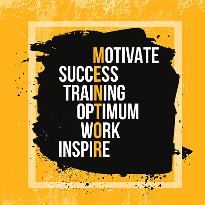 Inspiring motivation quote about Mentor. Vector typography poster and t-shirt design, office decor. Distressed background