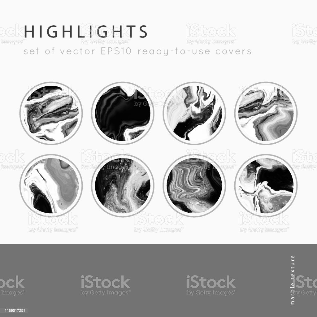 Instagram Highlight Covers Vector Stock Illustration Download Image Now Istock