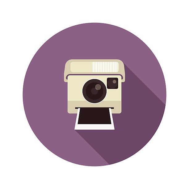 sofortbildkamera - fotografieanleitungen stock-grafiken, -clipart, -cartoons und -symbole
