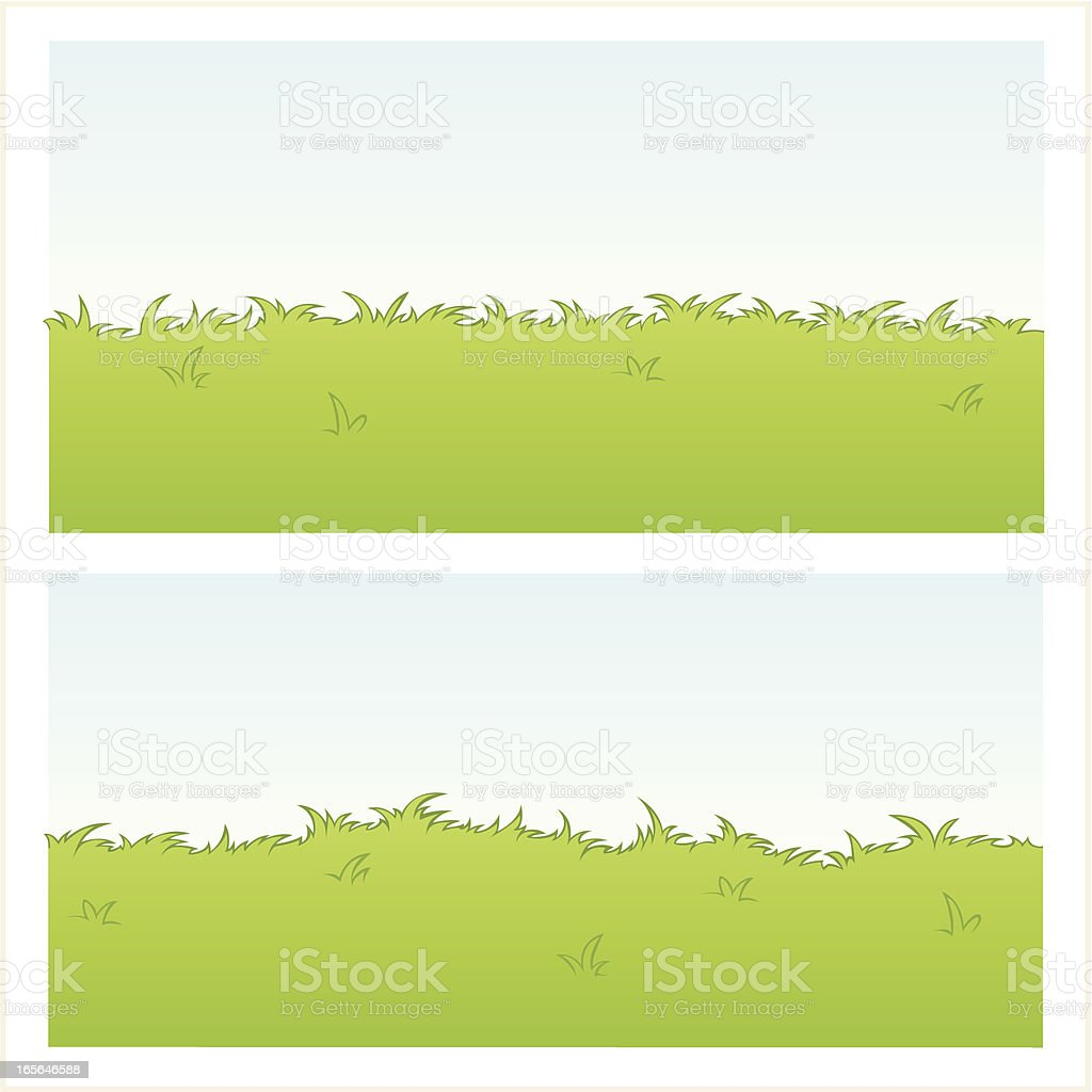 Instant Long Grass! royalty-free stock vector art