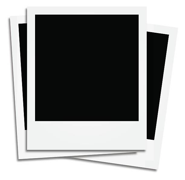 stockillustraties, clipart, cartoons en iconen met instant pictures - polaroid