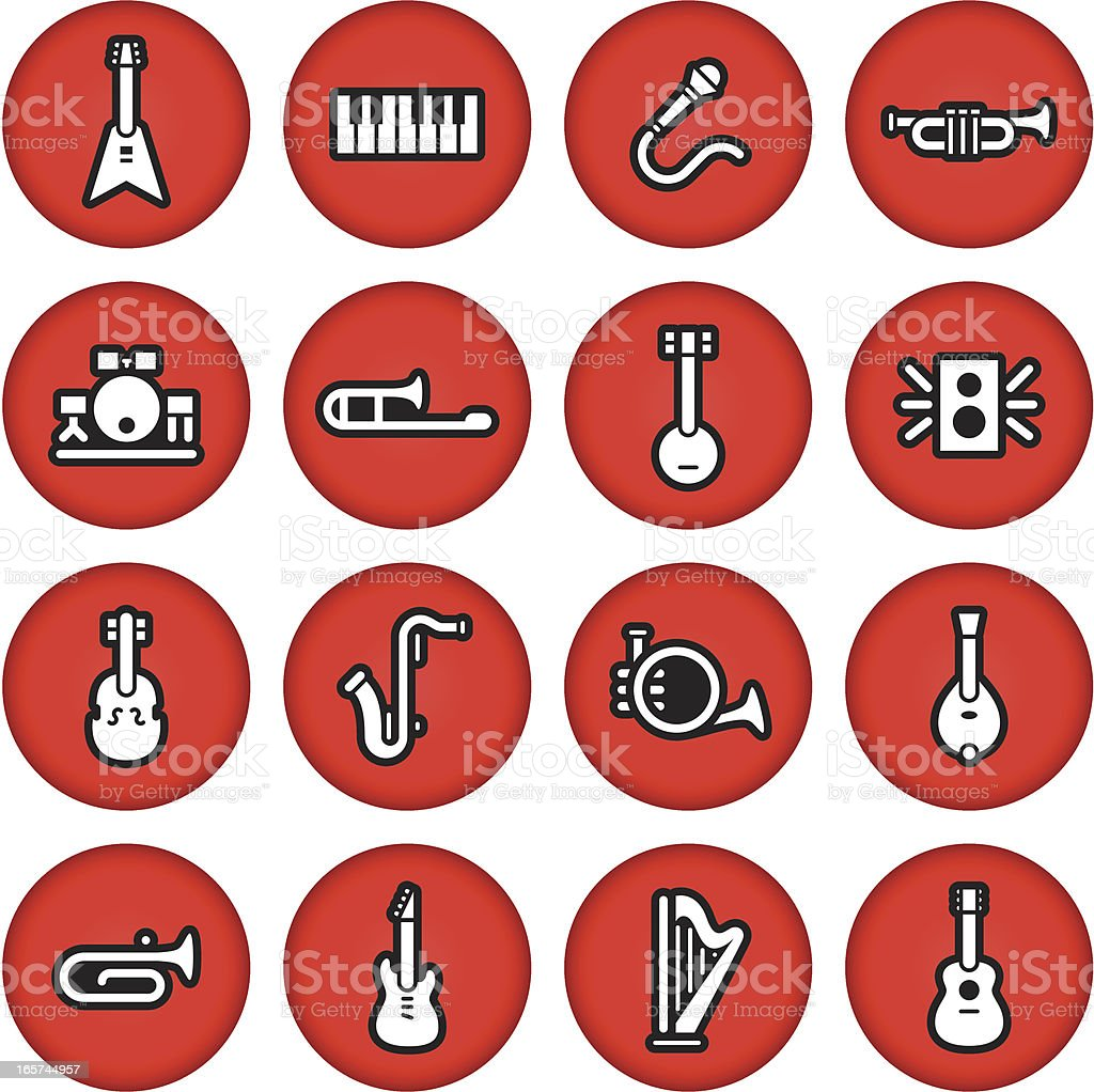 Instrument Icons royalty-free instrument icons stock vector art & more images of circle