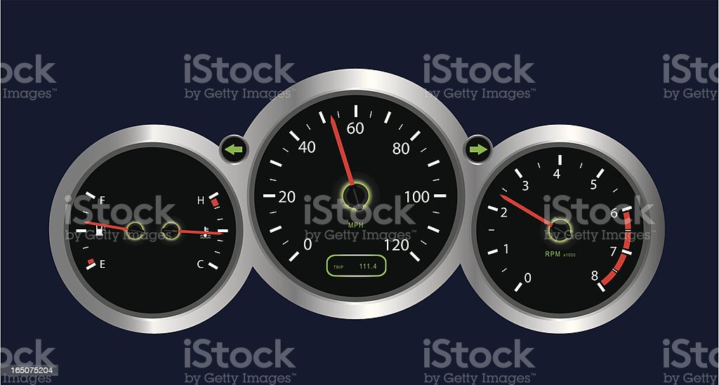 Instrument Panel royalty-free instrument panel stock vector art & more images of blue