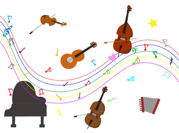 instruments - saks stock illustrations
