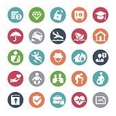 Insurance Icons - Bijou Series