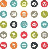 Insurance icons / Ringico series