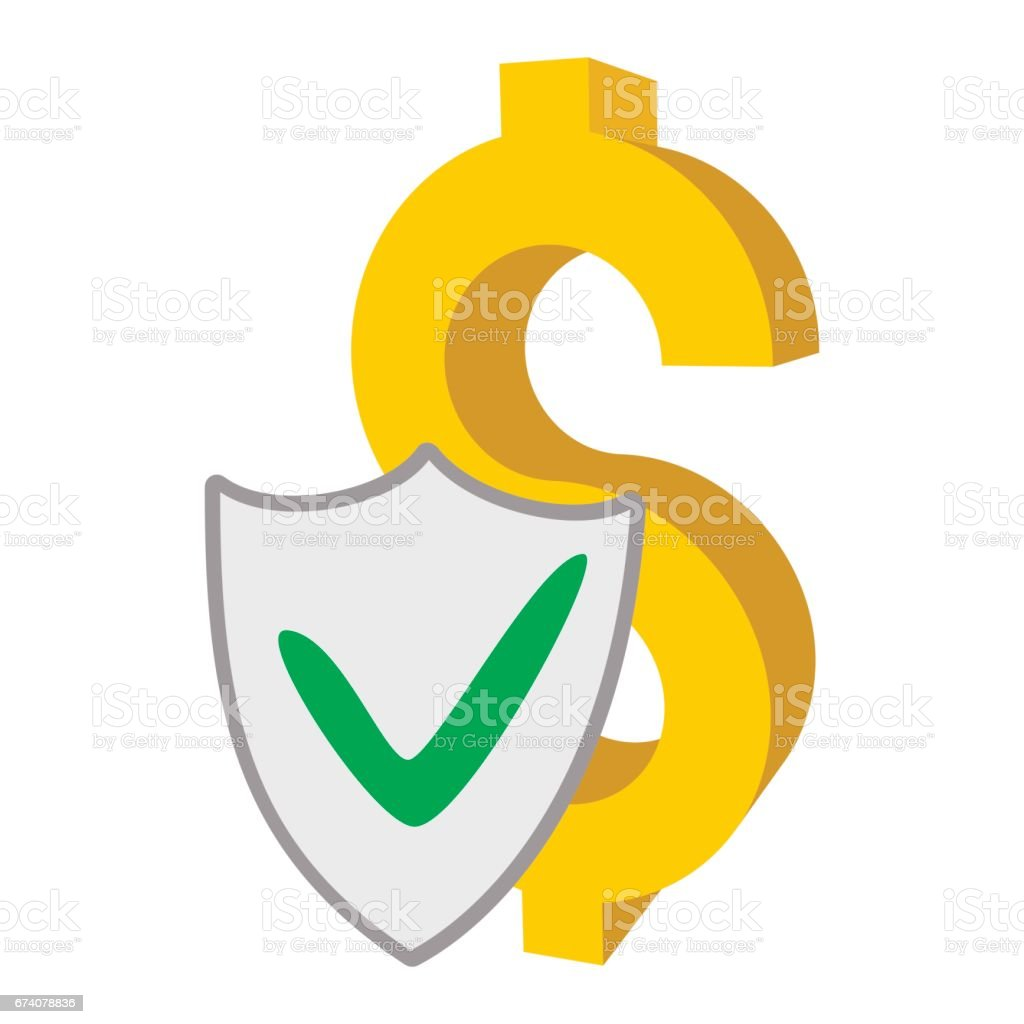 Insurance money icon, cartoon style royalty-free insurance money icon cartoon style stock vector art & more images of buying