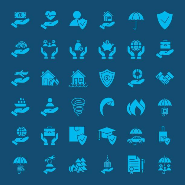 ilustraciones, imágenes clip art, dibujos animados e iconos de stock de iconos web sólido seguro - sólido