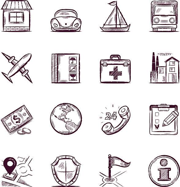 Versicherung – Vektorgrafik