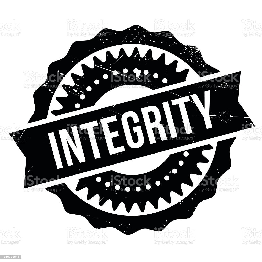 integrity stamp rubber grunge stock vector art more images of rh istockphoto com grunge vector collections grunge vector backgrounds