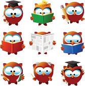 istock Intellectual Orly owls 104242680